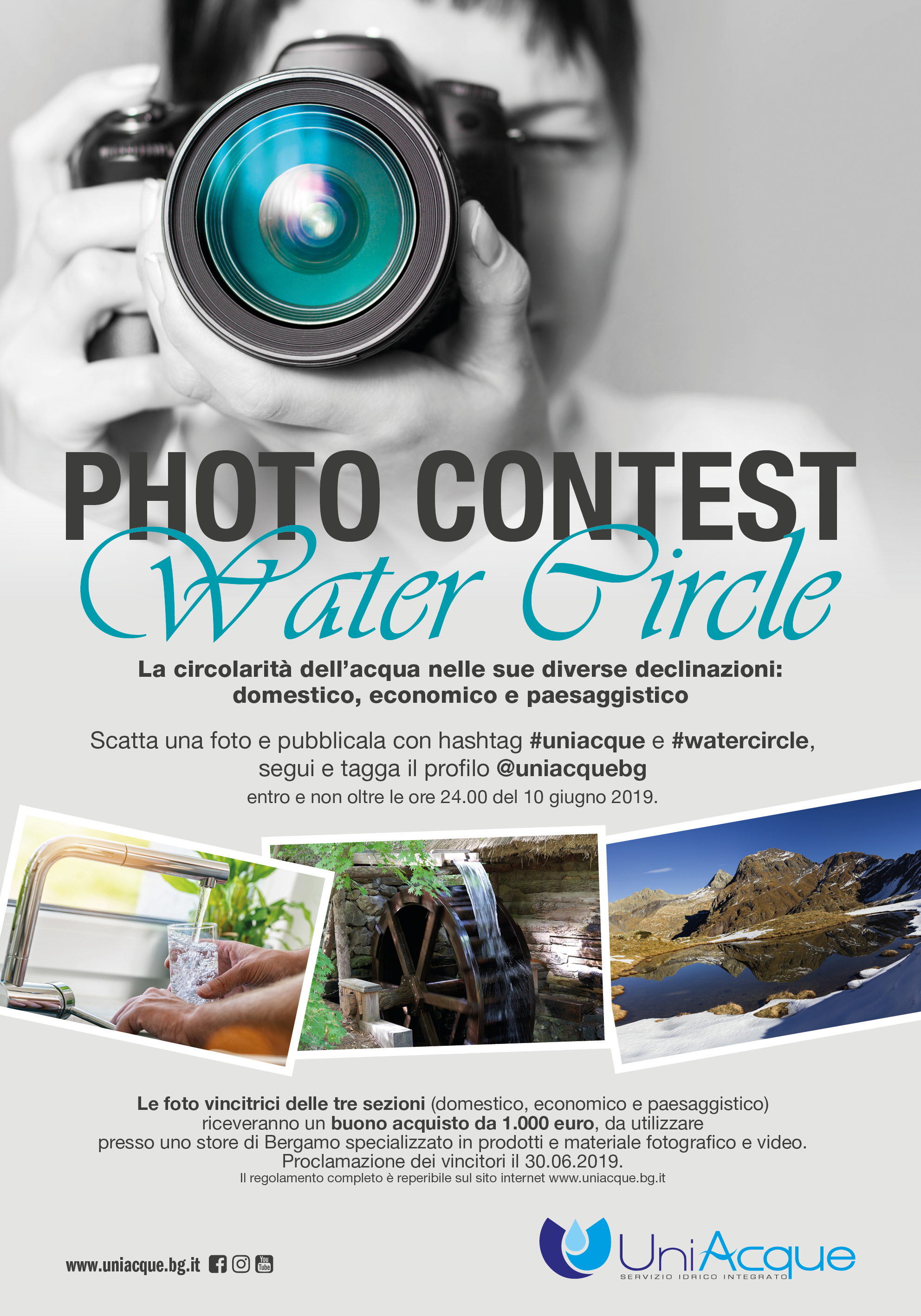 Photo contest #Watercircle | Concorso fotografico Instagram